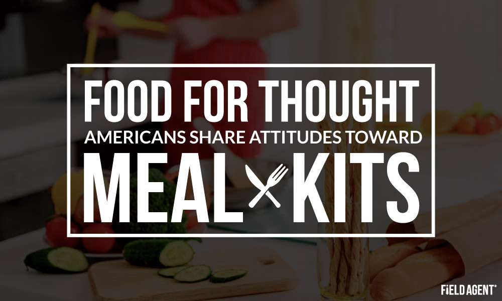 Food for Thought: Americans Share Attitudes towards Meal Kits