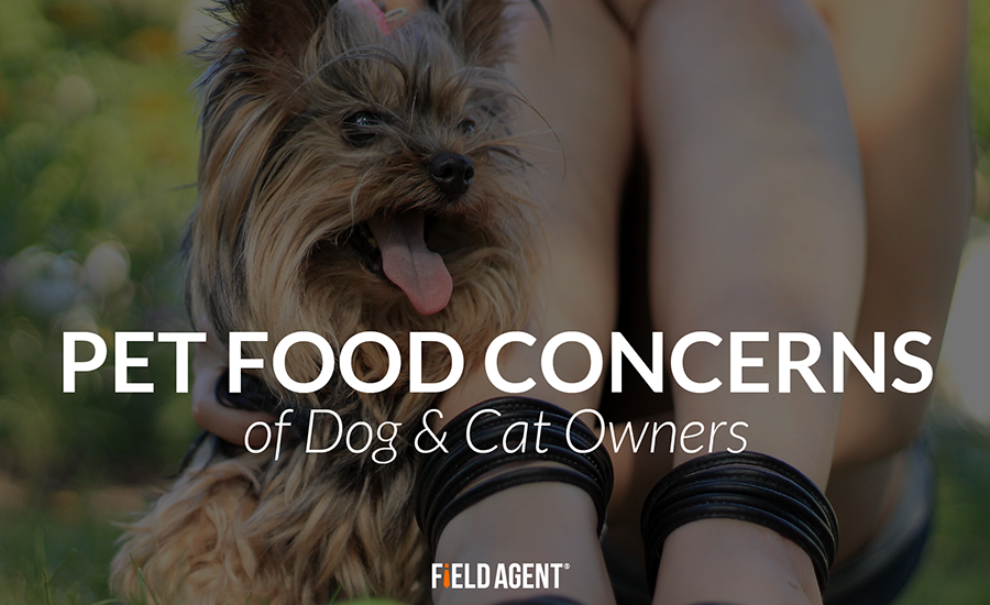 Pet Food Concerns of Dog & Cat Owners