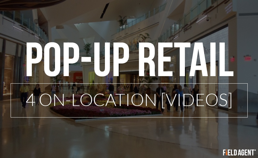 Pop-Up Retail, 4 On-location Videos, Omnichannel Special