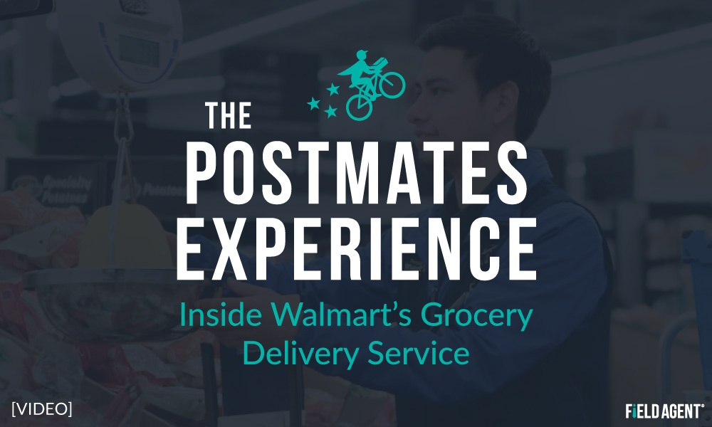 Postmates Experience - Inside of Walmart's Grocery Delivery Service