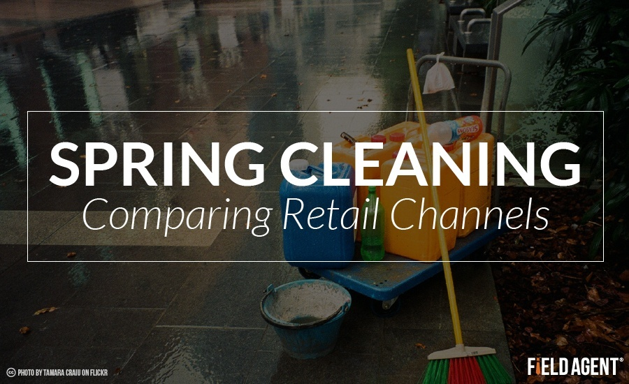 Spring Cleaning - Comparing Retail Channels
