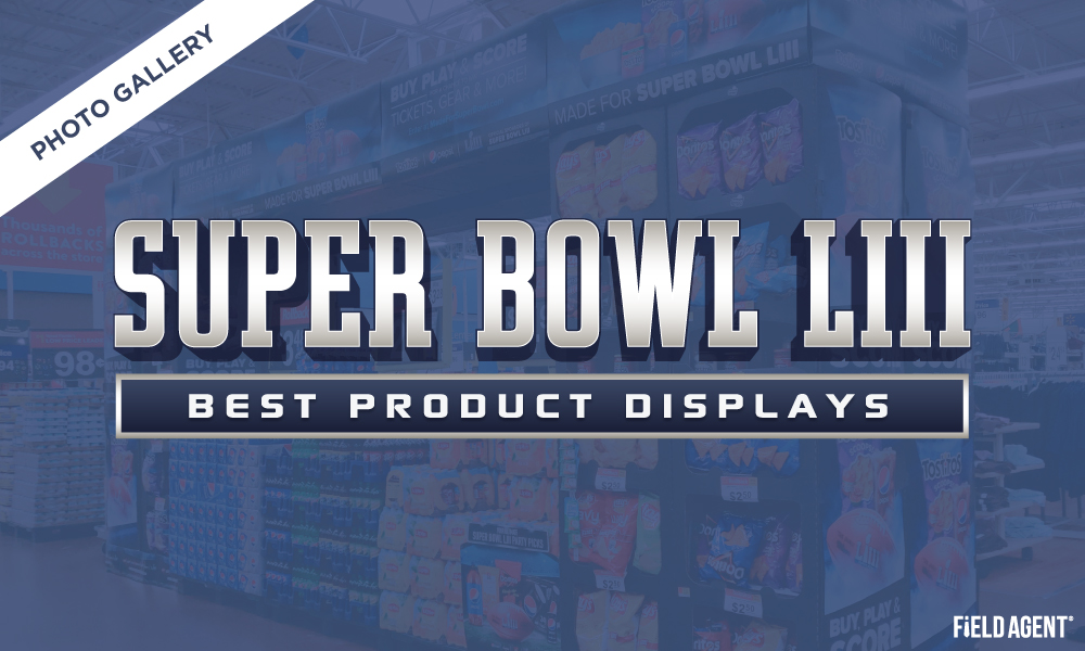 Photo Gallery: Best Product Displays of Super Bowl LIII