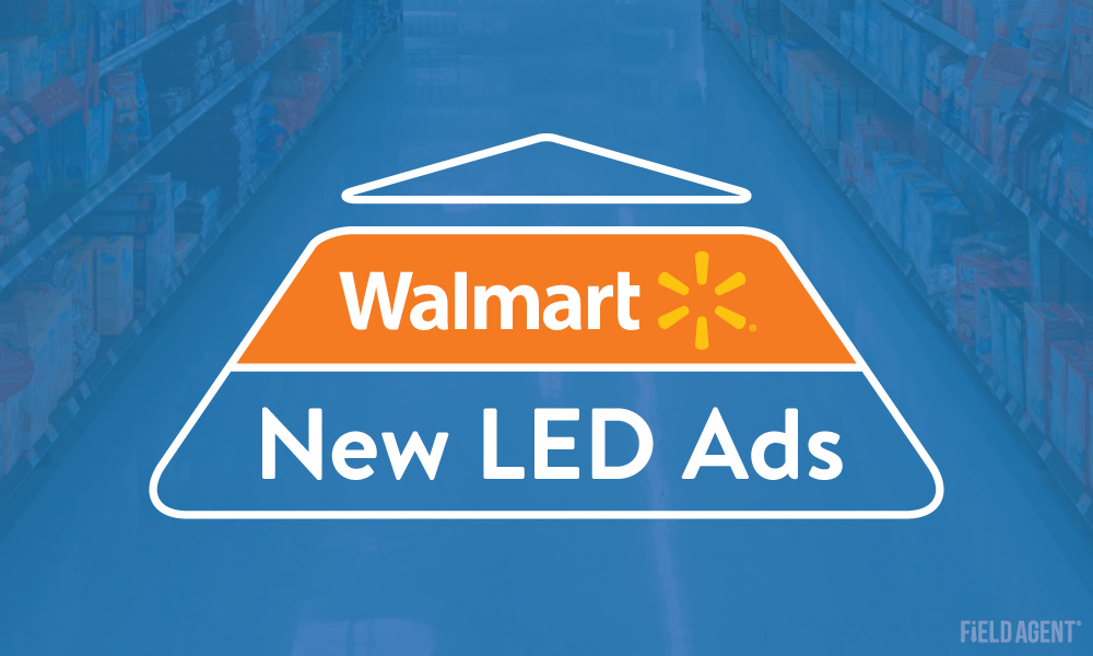 Breaking: Walmart Store Testing Projectable LED Ads [Video]