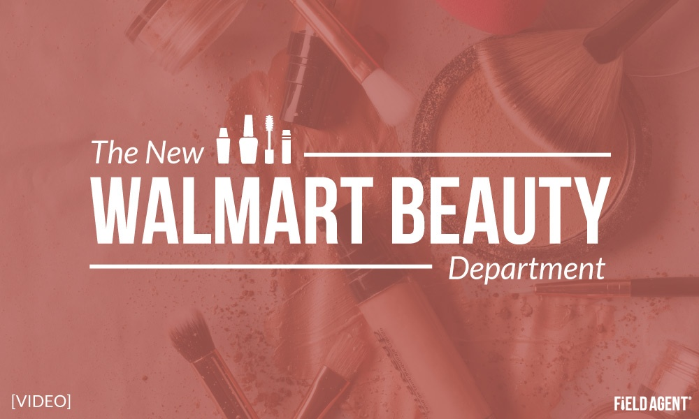 Instant Video: Is This the New Face of Walmart Beauty Departments?