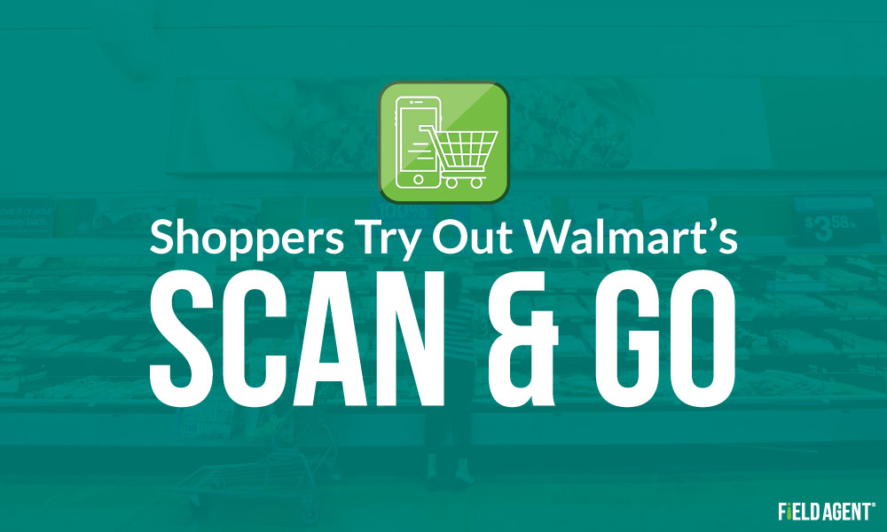 Shoppers Try Out Walmart's Scan & Go