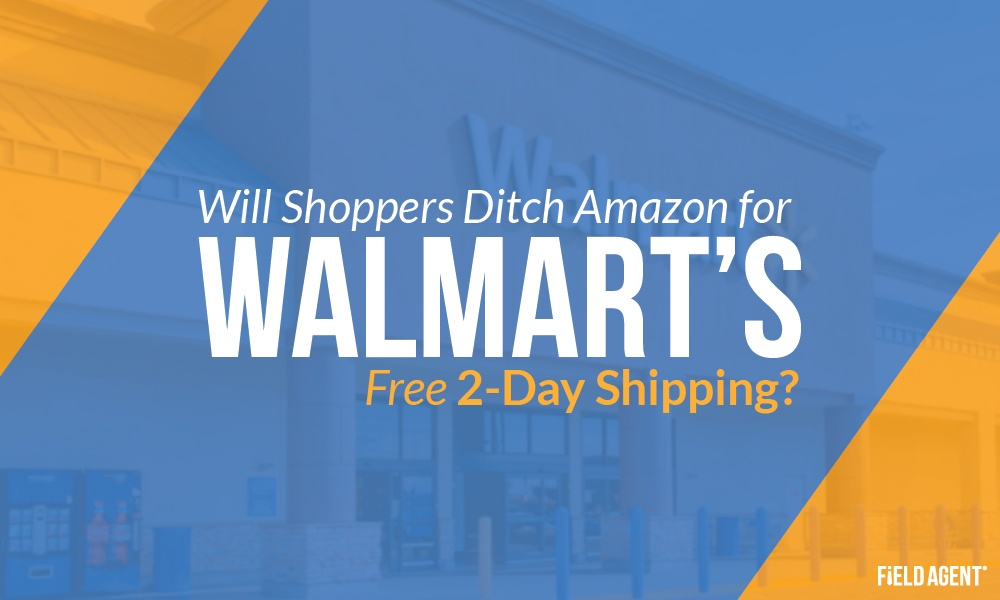 Will Shoppers Ditch Amazon for Walmart's Free 2-Day Shipping? [Survey]