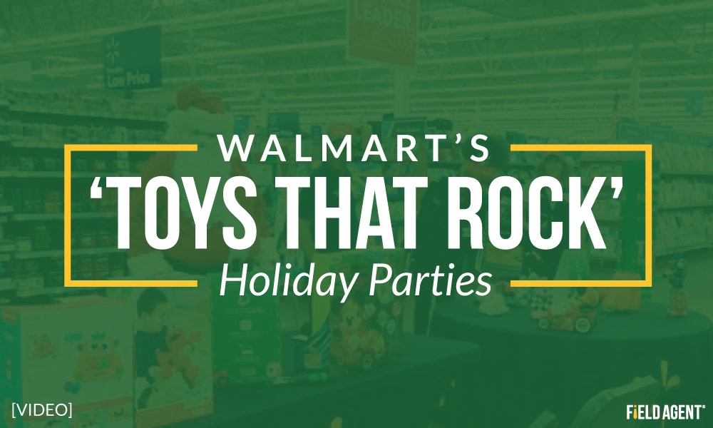 Instant Video: Walmart's 'Toys that Rock' Holiday Parties