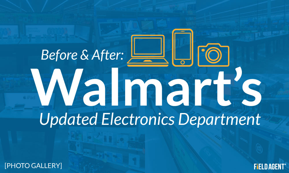 Before & After Photo Gallery: Walmart's Updated Electronics Department