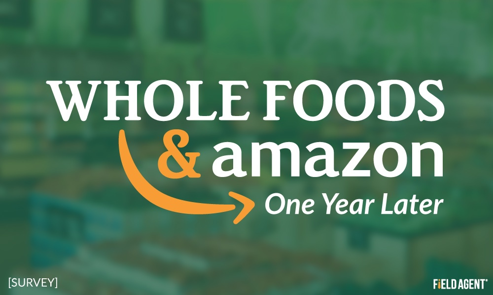 One Year Later: Shoppers Share Attitudes on Whole Foods Under Amazon?