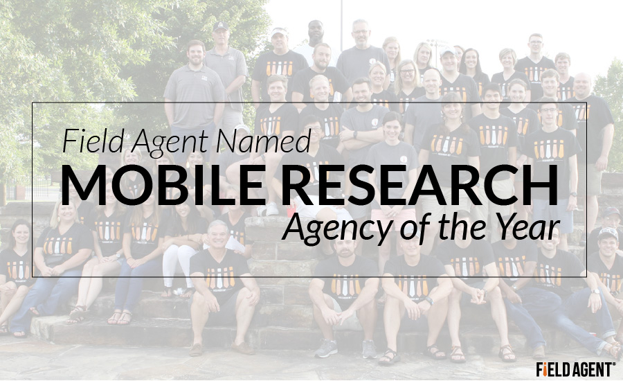 Field Agent Named Mobile Research Agency of the Year