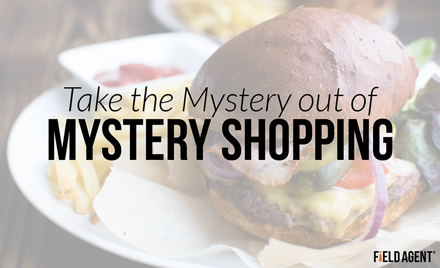 Take the Mystery out of Mystery Shopping