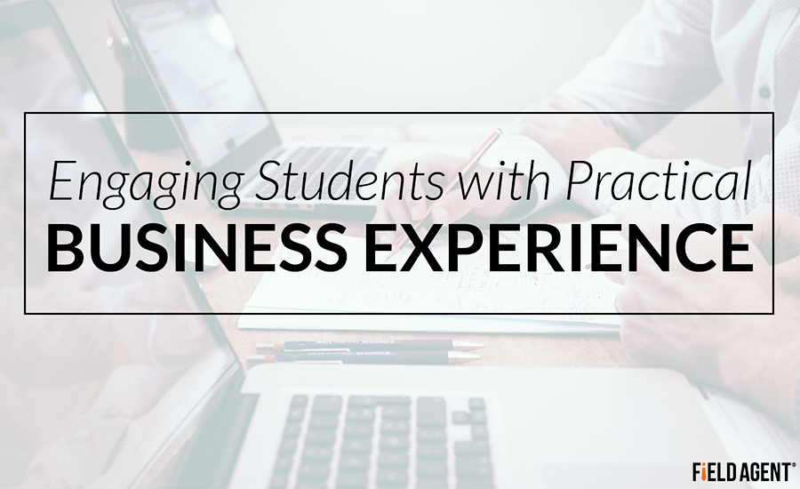 Engaging Students with Practical Business Experience