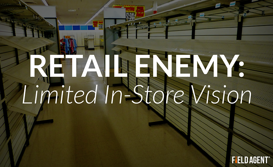 Retail Enemy: Limited In-Store Vision