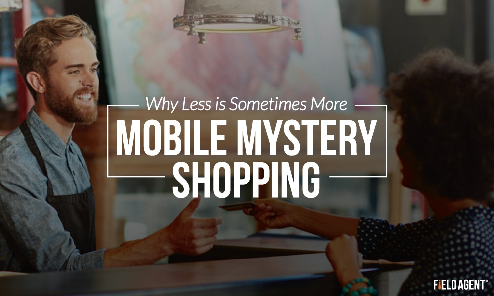 Quickshop vs. Mystery Shop: Why Less is Sometimes More